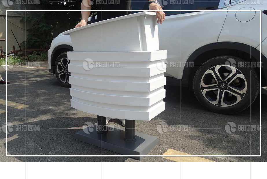 花箱搭配套盆技术