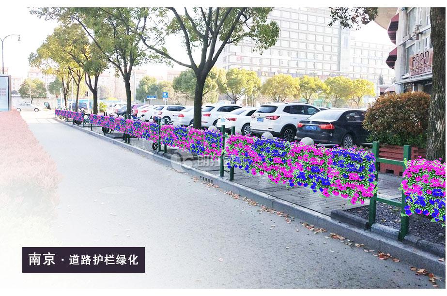 南京护栏绿化花盆厂家
