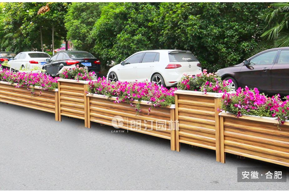 中央隔离带绿化花箱