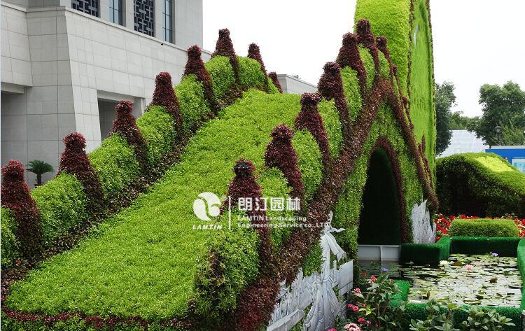 屋顶绿化工程案例