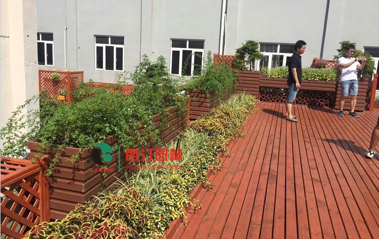 商场屋顶绿化案例